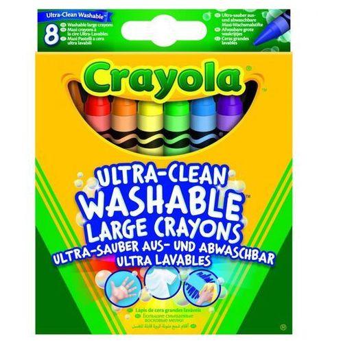 Crayola Duże zmywalne kredki 8 kolorów (0071662132828)