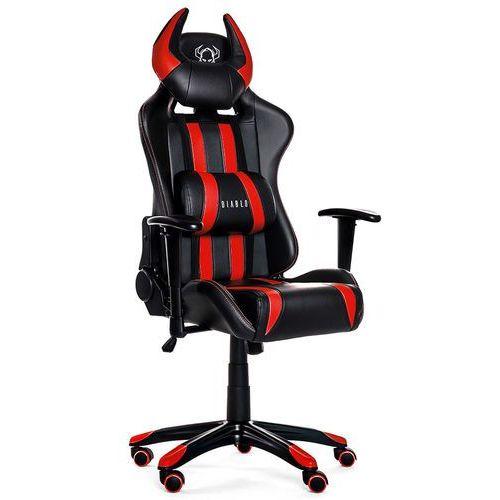Diablo chairs Fotel x-one horn czarno-czerwony + zamów z dostawą jutro! + darmowy transport!