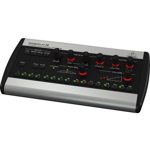 powerplay p16-m mikser cyfrowy marki Behringer