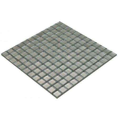 Goccia color line mozaika szklana srebrna, 30x30 cm cls1602 marki Goccia mosaico