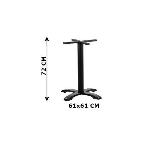 Podstawa stolika żeliwna SH-5009-2/B, (stelaż stolika), kolor czarny