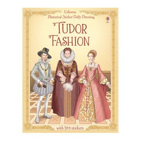 Historical Sticker Dolly Dressing Tudor Fashion, Bone, Emily