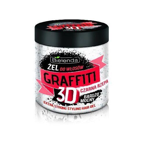 Bielenda Graffiti 3D Żel do układania włosów z czarną rzepą bardzo mocny 250ml - Bielenda. DARMOWA DOSTAWA DO KIOSKU RUCHU OD 24,99ZŁ (5904879000619)