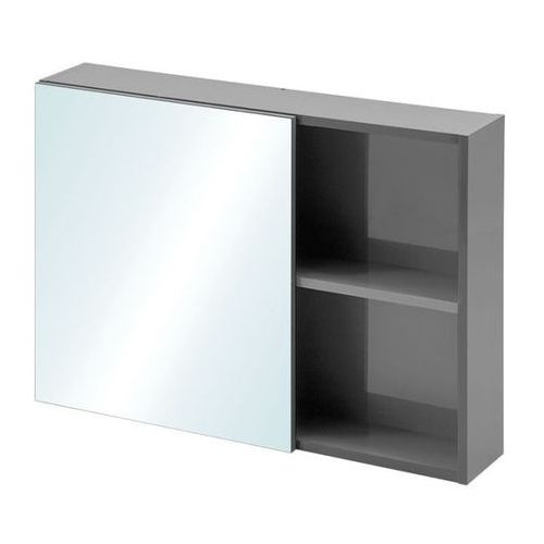 Szafka lustrzana Grey 80 x 16,5 x 55 cm szara, C&L-GREY-SGL-80