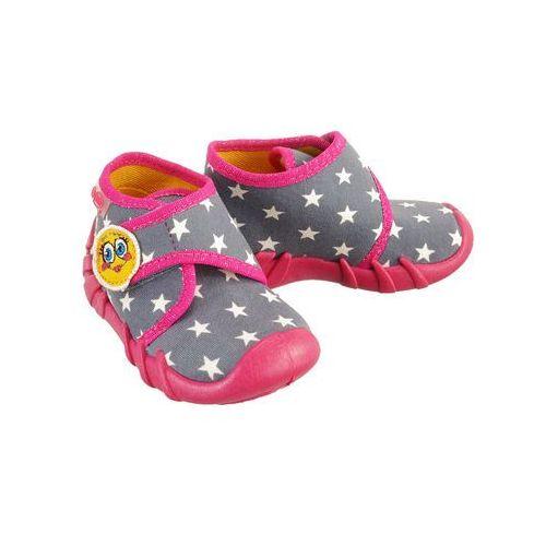 523p 010 speedy różowy, kapcie dziecięce, rozmiary: 20-26 - różowy marki Befado