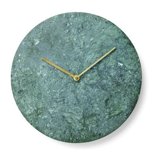 Zegar ścienny marble 30 cm green marki Menu