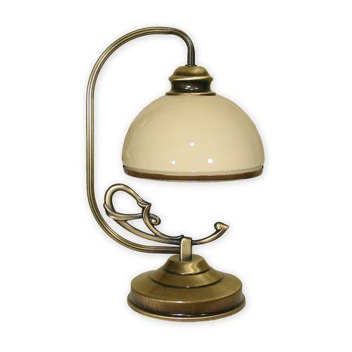 Delta lampka stołowa 1 pł. / patyna, Dodaj produkt do koszyka i uzyskaj rabat -10% taniej!, 518/L1