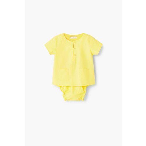 Mango kids  - komplet dziecięcy top+majtki 62-80 cm