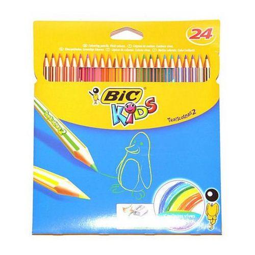 Kredki BIC Tropicolor 24 kol x1