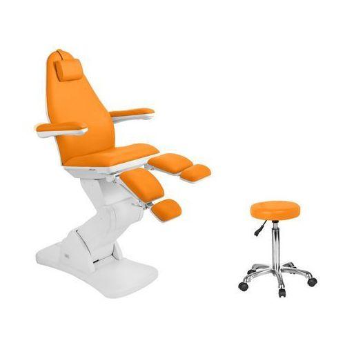 Fotel kosmetyczny elektr. 2244a pedi pomarańczowy marki Activ