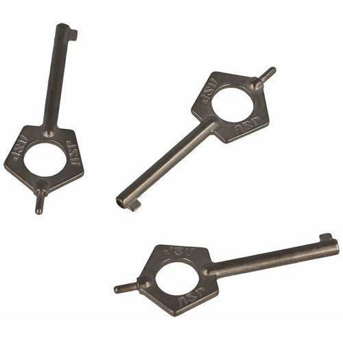 Asp inc. Kluczyki do kajdanek 3szt asp pentagon handcuff key (56523) (0796254038295)