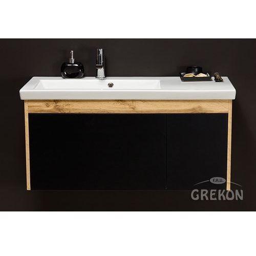 Szafka łazienkowa z umywalką 100/40 seria platum c marki Gante