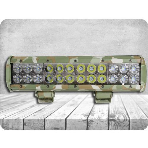Led lampa robocza 72w, 7200 lm, ip67, kamuflaż + bezpłatna natychmiastowa gwarancja wymiany! marki Kamar