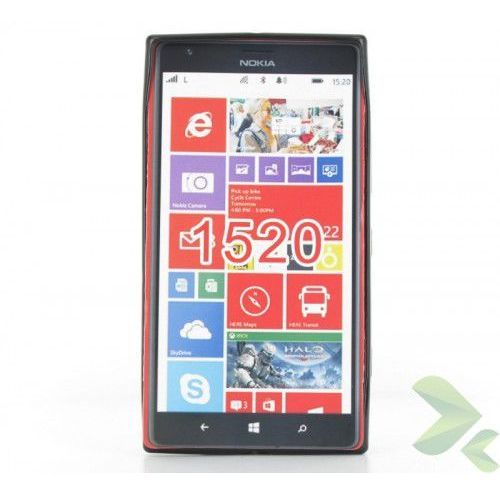- etui nokia lumia 1520 tpu solid color black marki Geffy