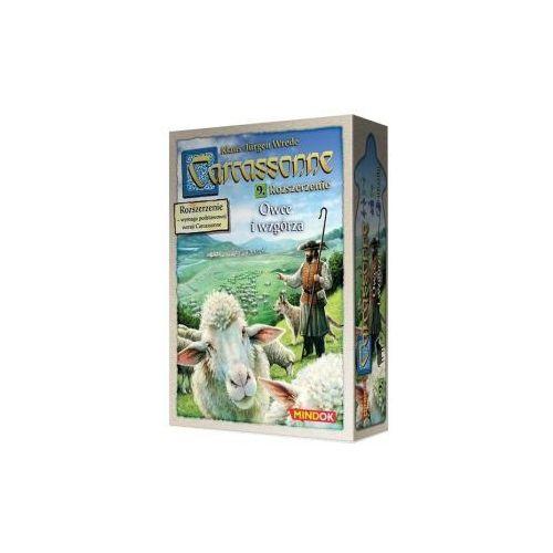 Carcassonne: owce i wzgórza. druga edycja polska. dodatek do gry planszowej marki Bard