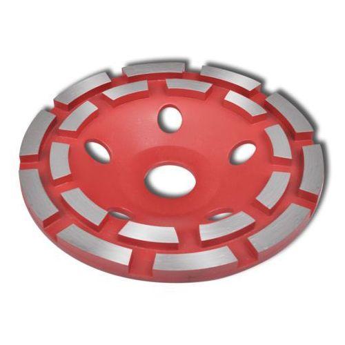 Vidaxl  nasadka do szlifowania kamienia okrągła diamentowa 125 mm