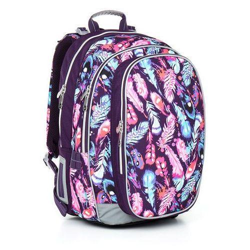Plecak szkolny  chi 796 h - pink wyprodukowany przez Topgal