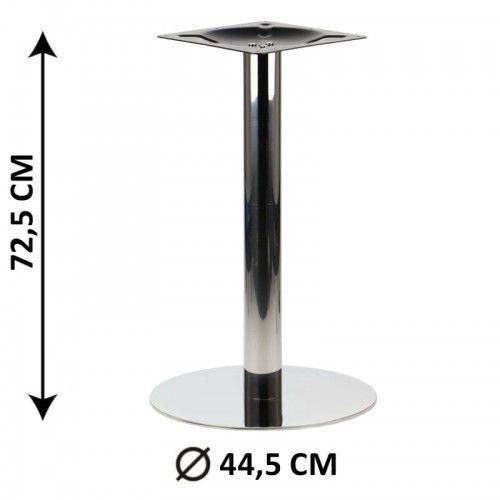 Stema - sh Podstawa stolika sh-3001-5/p, fi 44,5 cm, stal nierdzewna polerowana (stelaż stolika)