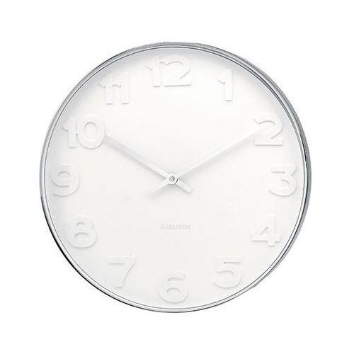 Karlsson :: zegar ścienny mr. white numbers