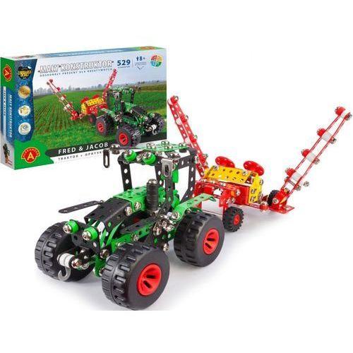 Mały konstruktor fred & jacob traktor + opryskiwacz (5906018019353)