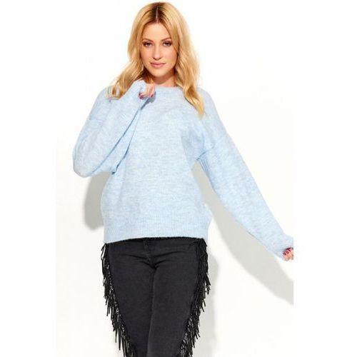 Sweter damski model s58 sky blue, Makadamia