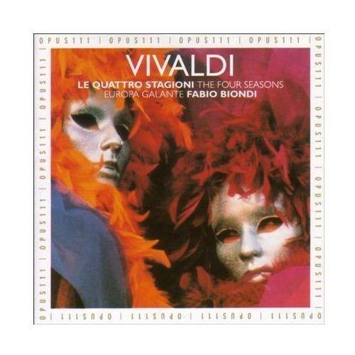 Fabio & Europa Galante Biondi - VIVALDI:FOUR SEASONS (3386705691208)