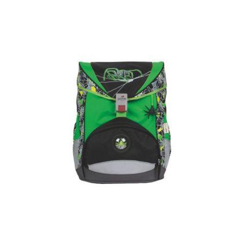 DerDieDas Plecak-zestaw ErgoFlex - Green Spider, 5-częściowy (4006047705317)