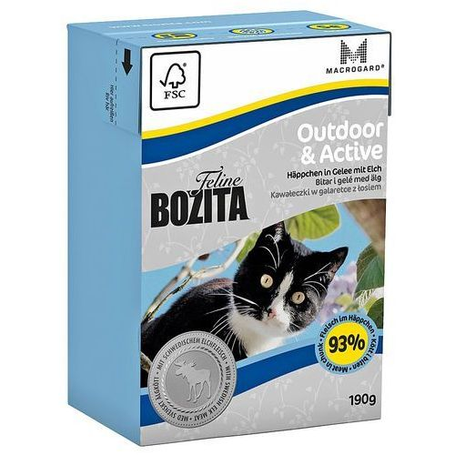 feline outdoor active 190g marki Bozita