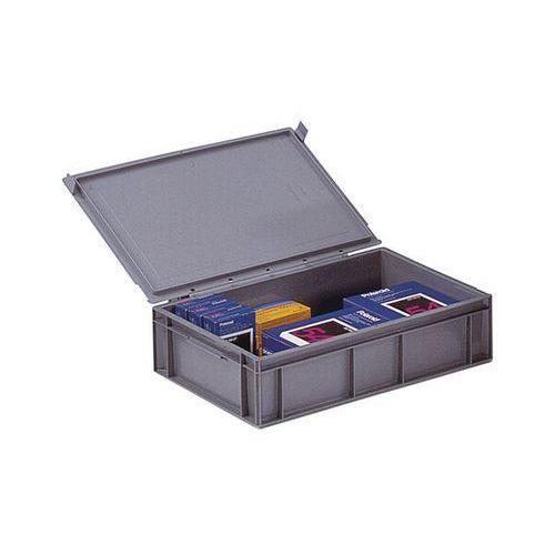 Pojemnik wg euronormy, poj. 28 l, dł. x szer. x wys. 600x400x161 mm, od 1 szt. Z