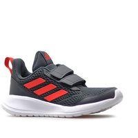 Buty dziecięce Adidas AltaRun CF K CG6896 Szare