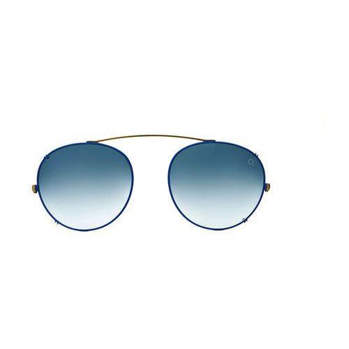 Okulary Słoneczne Etnia Barcelona Le Marais Clip-On BLGY, kolor żółty