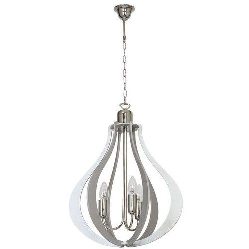 Lampa wisząca zwis jura 3x40w e14 szara 877e/22 marki Aldex