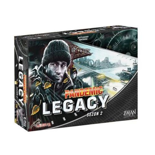 Pandemic Legacy (Pandemia) - sezon 2 Edycja Czarna