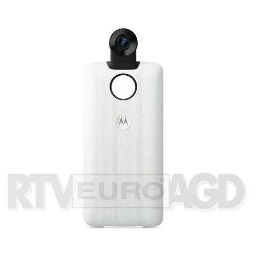 Motorola Moto Mods kamera 360 do Moto Z (biały) (6947681555211)