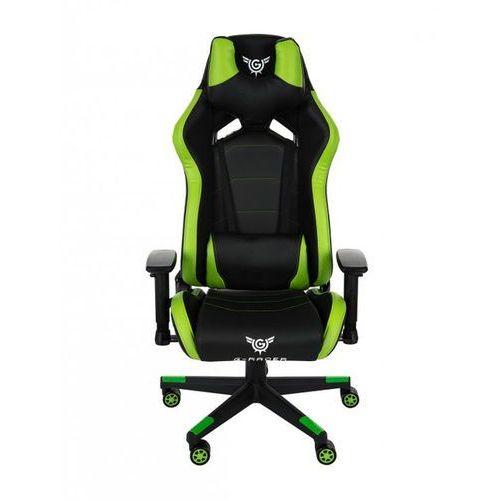 Fotel Gamingowy G-Racer 4U Dla Gracza szary