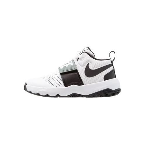 Nike Performance TEAM HUSTLE D 8 (GS) Obuwie do koszykówki white/black, 881941