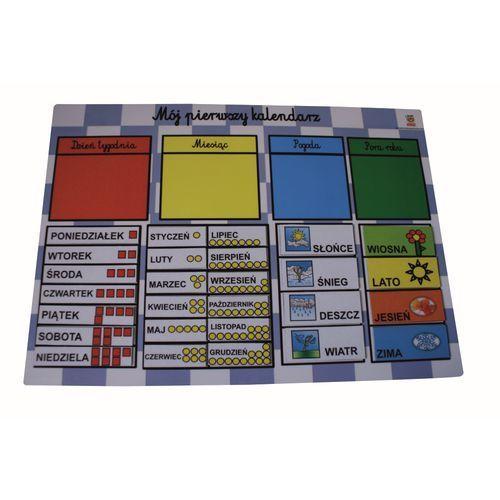 Magnetyczny kalendarz edukacyjny wersja podstawowa marki Bystra sowa