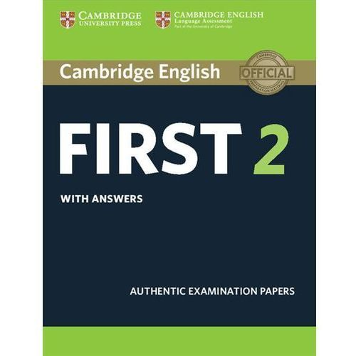 Cambridge English First 2 Student's Book with answers (9781316503577)