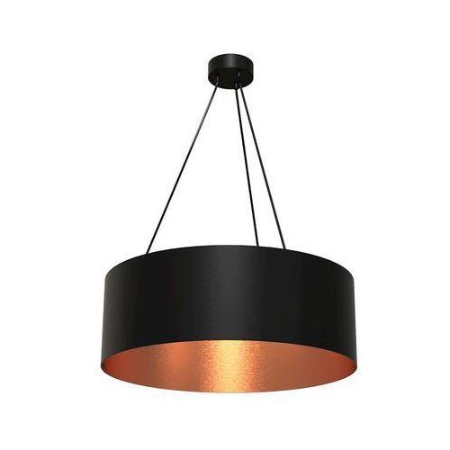 Milagro Lampa wisząca robin mlp 4484 okrągła oprawa zwis czarny miedziany