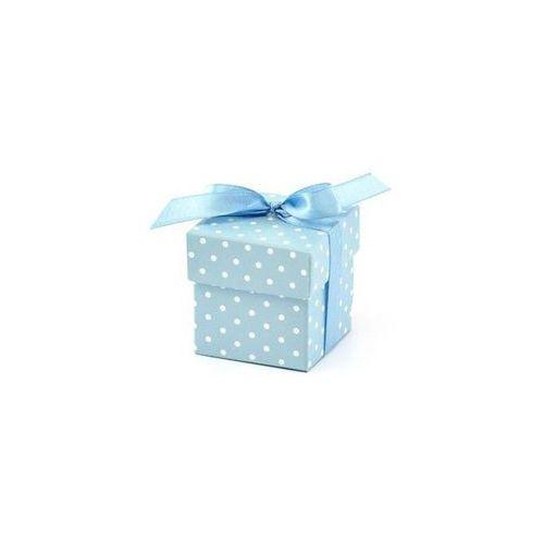 Ap Pudełeczka dla gości z kokardką błękitne - 10 szt. (5901157437112)