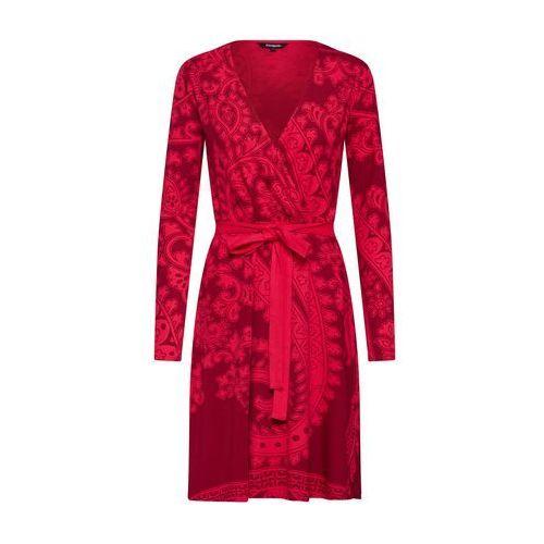 sukienka damska vest marlene xs czerwona, Desigual, 34-44