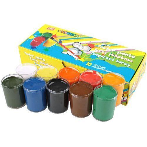 Easy stationery Farby plakatowe 10 kolorów (5901180306454)