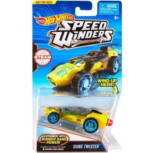 Hot wheels Autonakręciak i samochodziki, dune twister