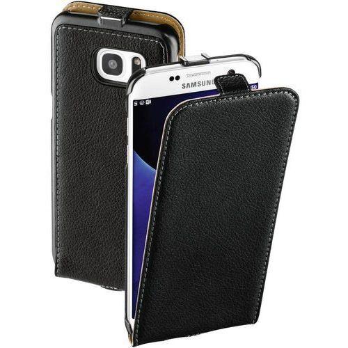 Etui na smartfon smart case do samsung galaxy s7 edge czarny marki Hama