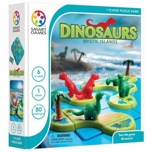 Smartmax Smart games dinozaury mystic islands - smart games. darmowa dostawa do kiosku ruchu od 24,99zł