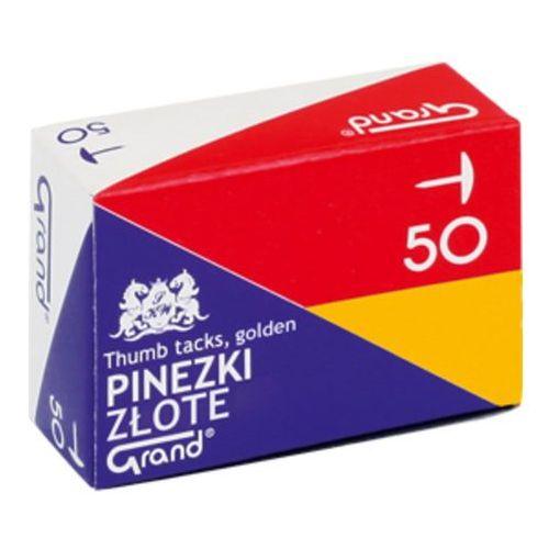 Pinezki złote 50szt. Grand