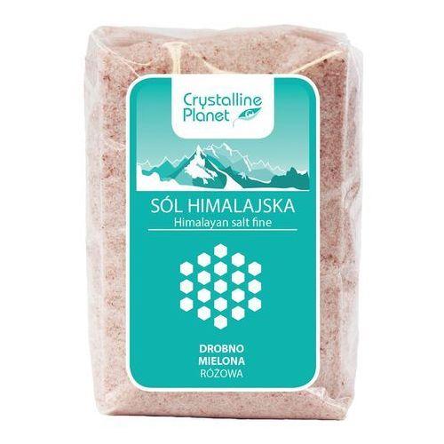 Sól himalajska różowa drobno mielona 600 g - crystalline planet marki Sól - crystalline planet (dawniej skarby oceanu). Najniższe ceny, najlepsze promocje w sklepach, opinie.