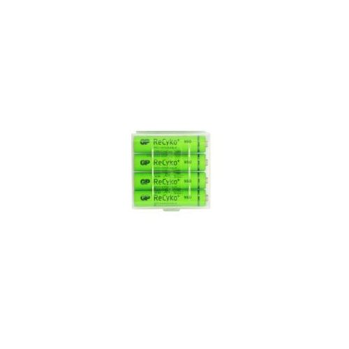 4 x akumulatorki r03/aaa gp recyko+ 950 series 950mah (pojemnik r03) marki Gp batteries