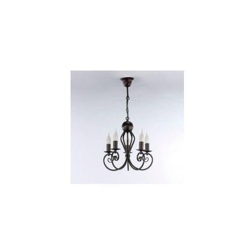 Lampa wisząca kliwia classic venge 5 żar. 3558 marki Namat