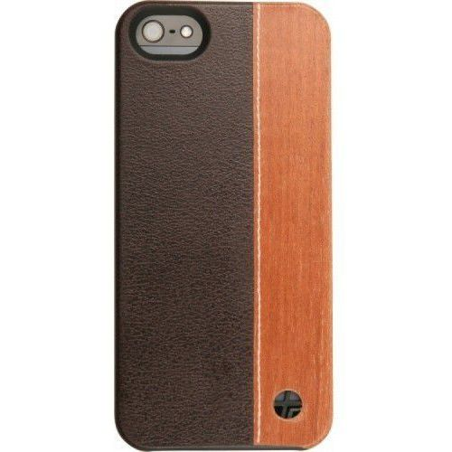 Trexta Wood Duo Wood iPhone 5 Brąz Txa-018739, kolor brązowy